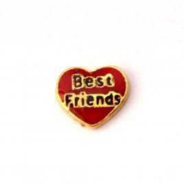 Best Friends Red Heart