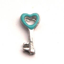Blue Heart Key