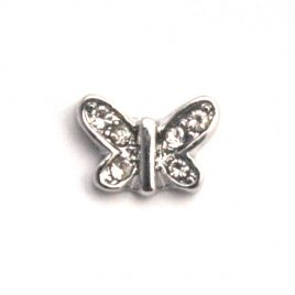 Butterfly (Clear Gems)