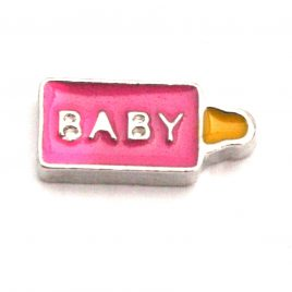 Pink Baby Bottle