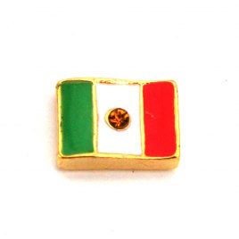 Mexico Flag with Gem