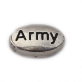 Army Oval (Silver)