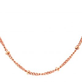 Ball Station Chain (Rose Gold)
