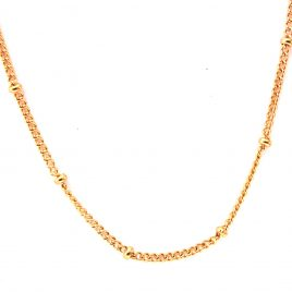 Ball Station Chain (Gold)