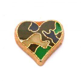 Camo Heart (Green)