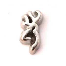 Deer Head (Silver)