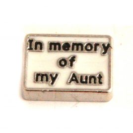 In Memory of My Aunt