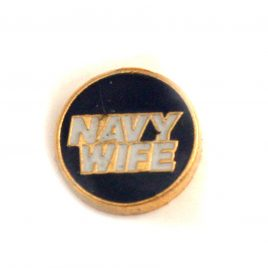 Navy Wife (Round)