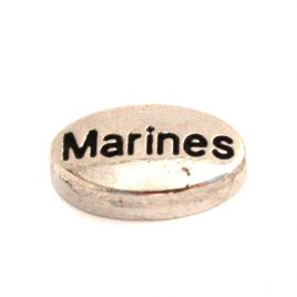 Marines Oval (Silver)