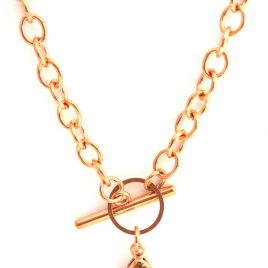 Toggle Chain (Rose Gold)