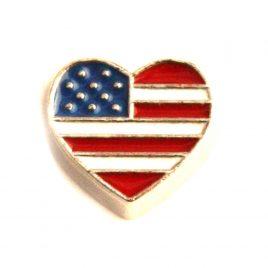 American Flag (Heart)