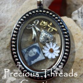 Vintage Photo Necklace