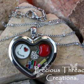 Teacher Appreciation Locket (Stainless Steel)