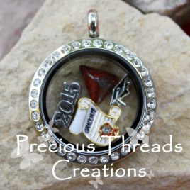 Graduation Locket Necklace