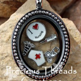 Nursing Locket Necklace