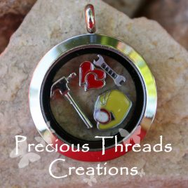Handyman Locket Necklace