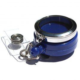 Stainless Steel Blue Badge Holder