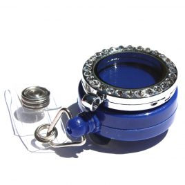 Alloy Blue Badge Holder